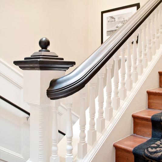 Snug Harbor Inn Stairs