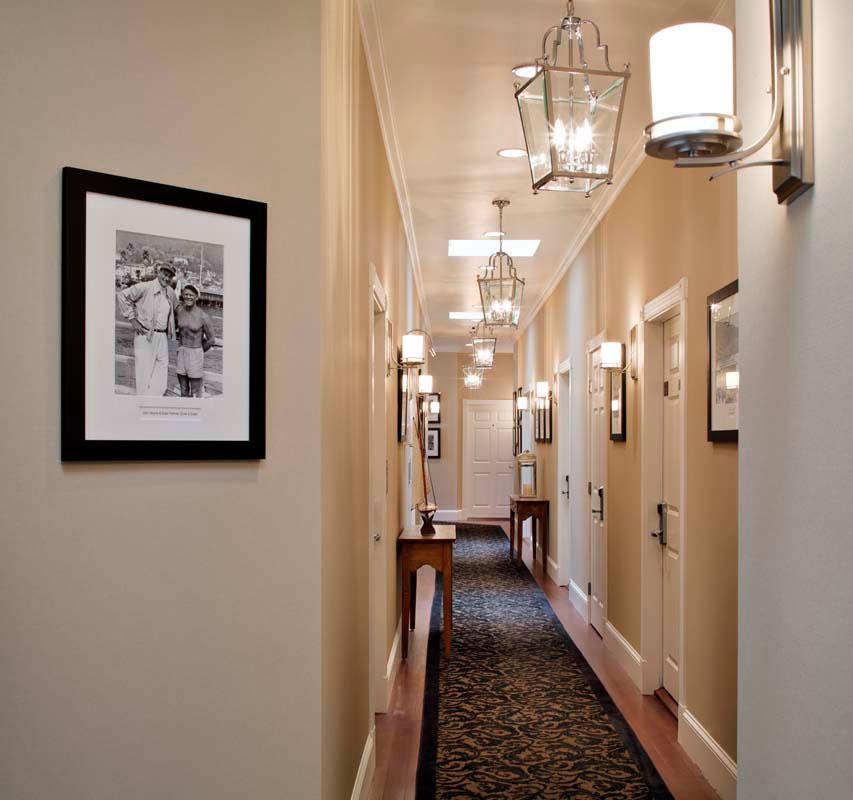 Snug Harbor Inn Hallway